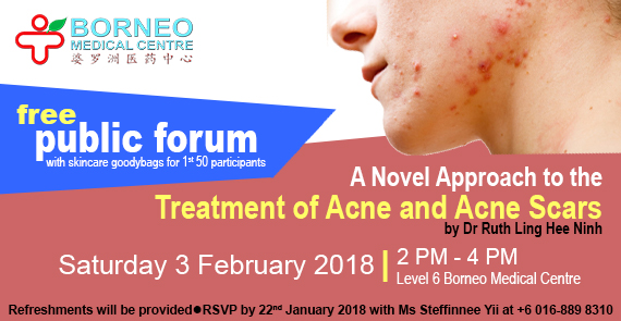 Free Public Forum : Treatment of Acne and Acne Scars